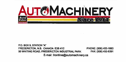 Auto Machinery