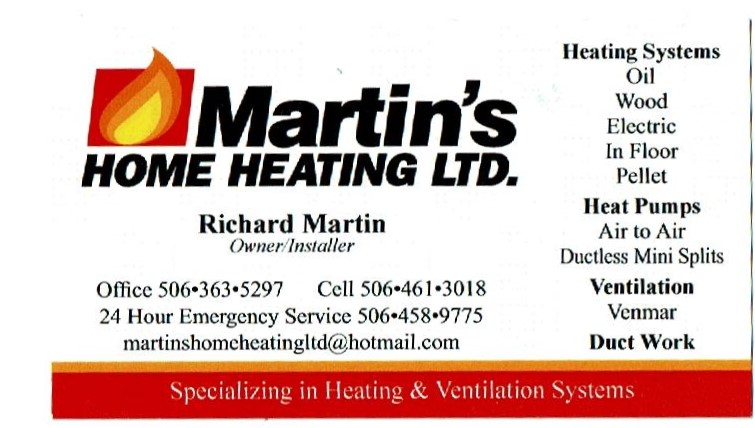 Martin's Home Heating