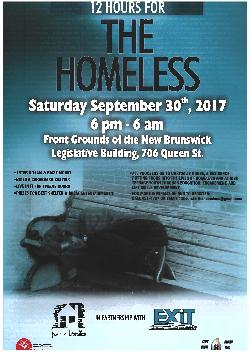 12 Hours for the Homeless