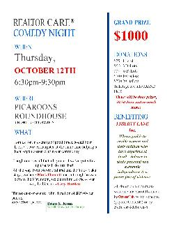 REALTOR Care Comedy Night